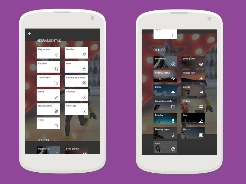 5! apps para editar fotografías | Snapseed