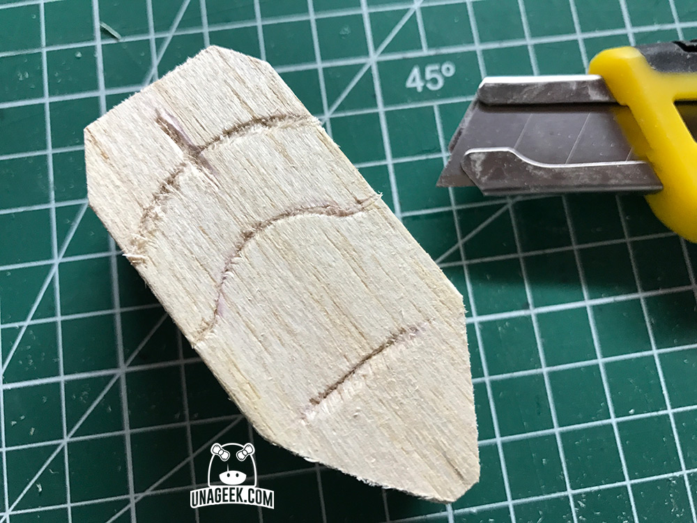 DIY: «Stormie» el Stormtrooper de madera de Jyn Erso en Rogue One | Torso