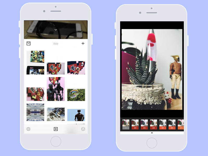 5! APPs para editar fotos | VSCO