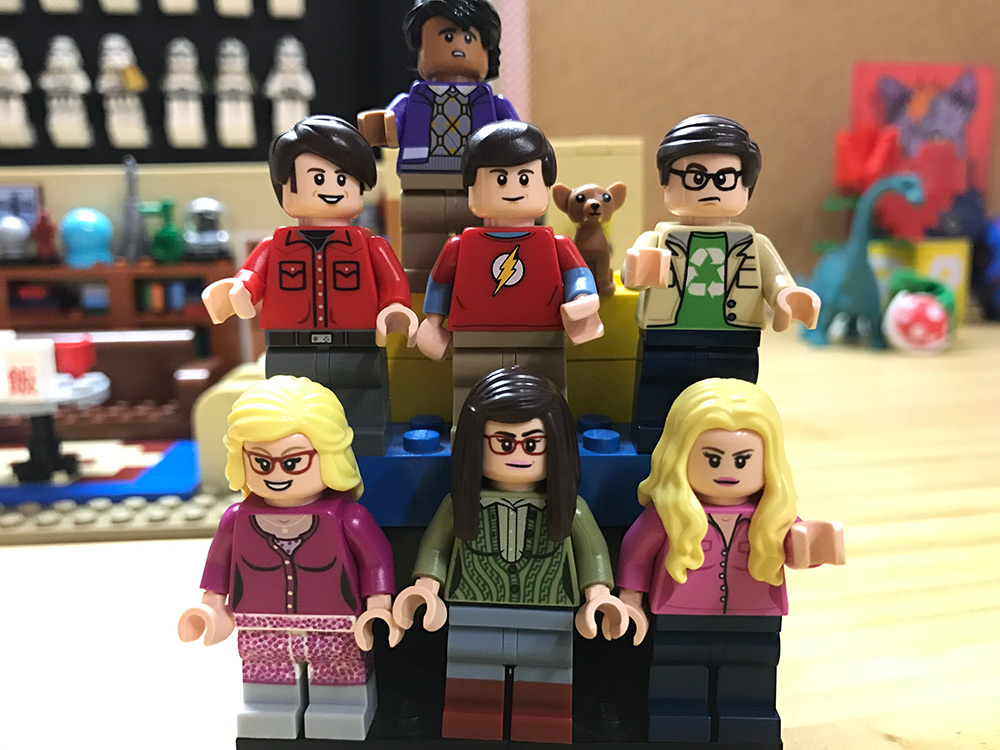 Armando el Set de LEGO de The Big Bang Theory