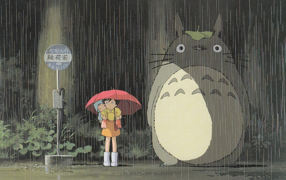 5! Momentos favoritos de las películas de Hayao Miyazaki - Mi vecino Totoro