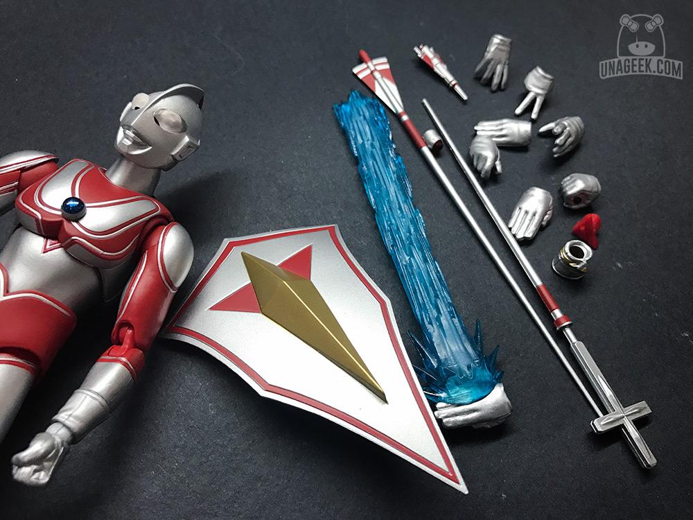 Fotoreseña: Ultra-Act Ultraman Jack de Bandai   Accesorios