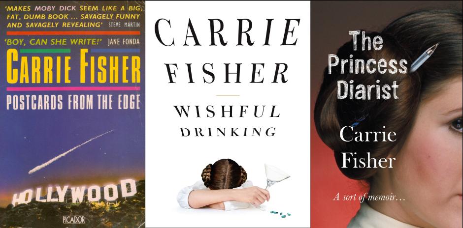 Carrie Fisher, más allá de la Princesa Leia   Libros