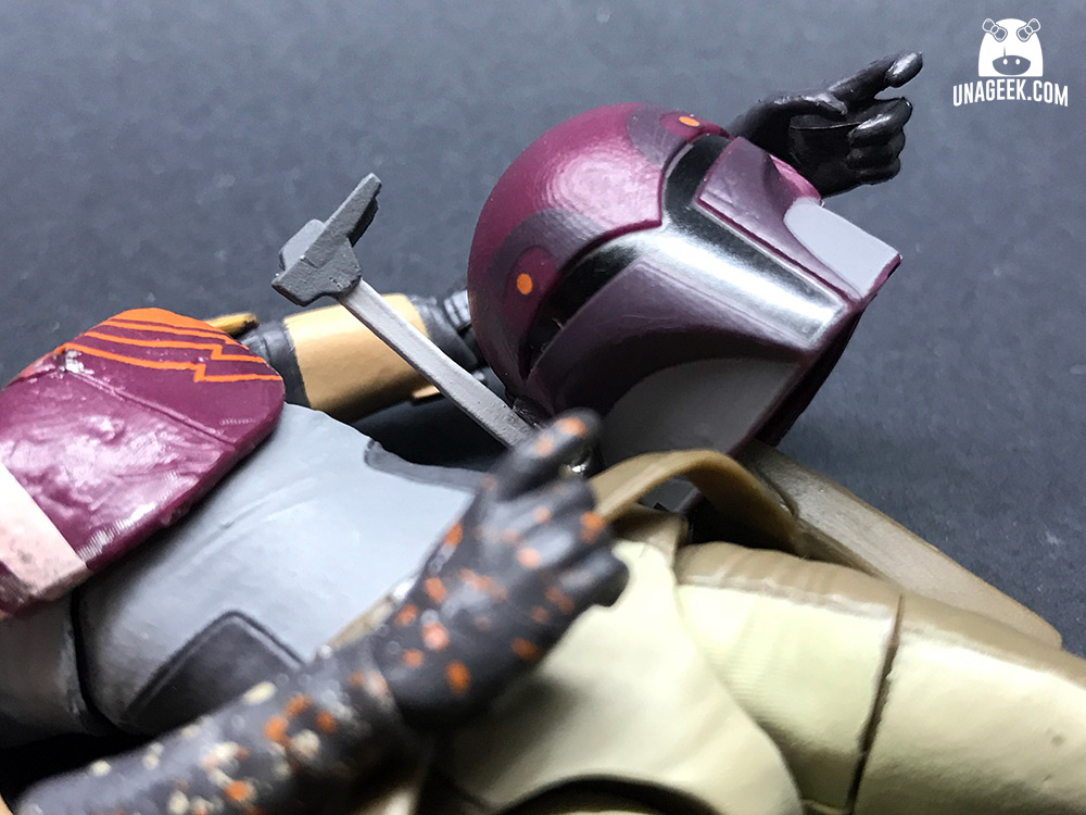 Fotoreseña: Sabine Wren de The Black Series | Casco