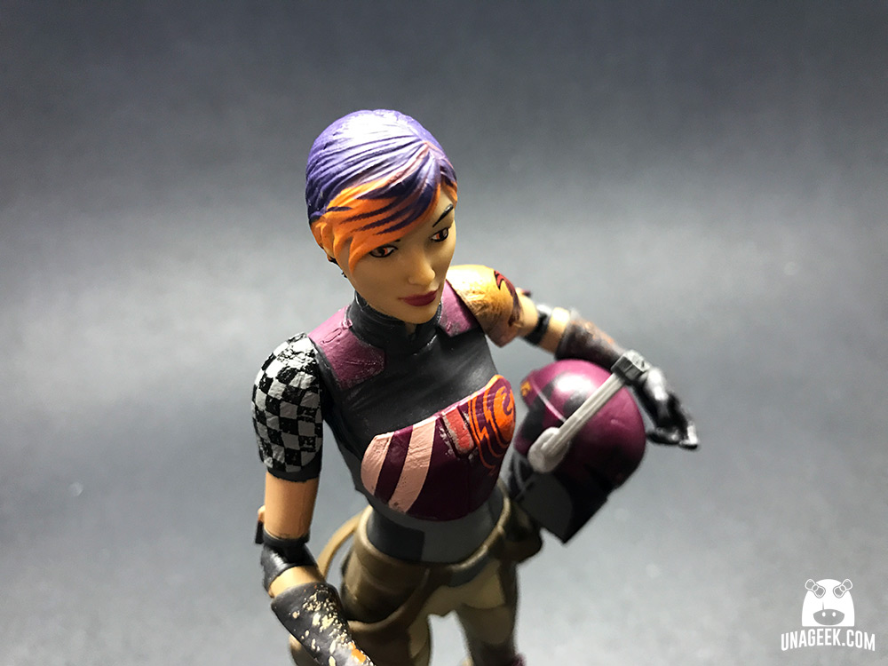 Fotoreseña: Sabine Wren de The Black Series | Detalles