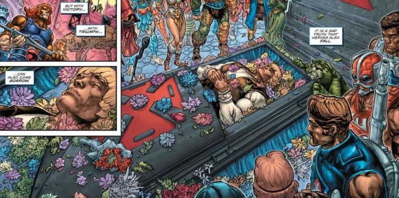 Golpe a la nostalgia, muere He-Man