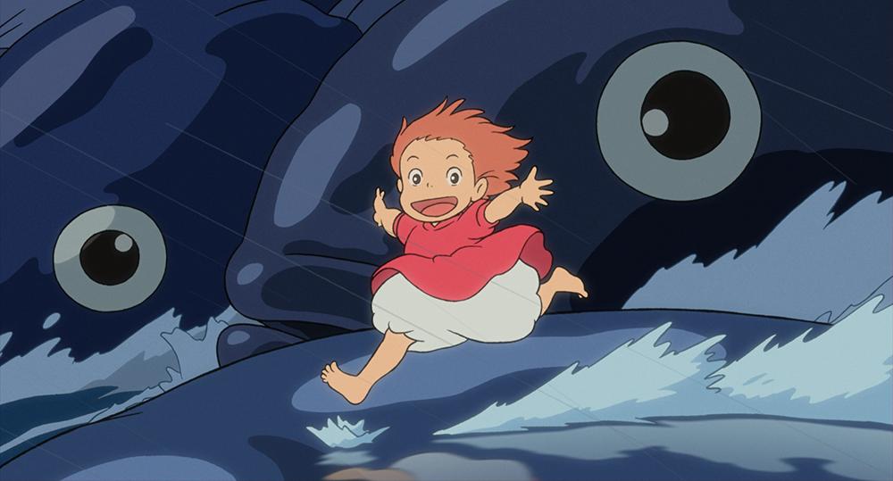5! Momentos favoritos de las películas de Hayao Miyazaki - Ponyo, El secreto de la sirenita