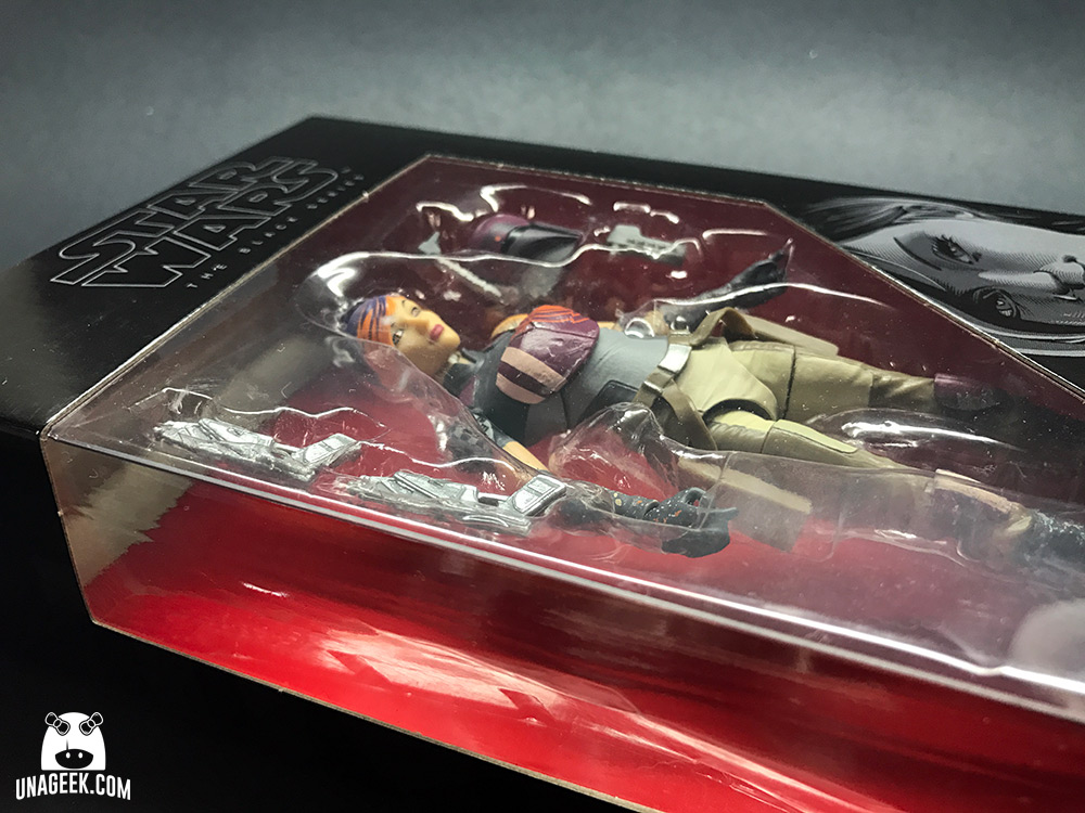 Fotoreseña: Sabine Wren de The Black Series | Caja