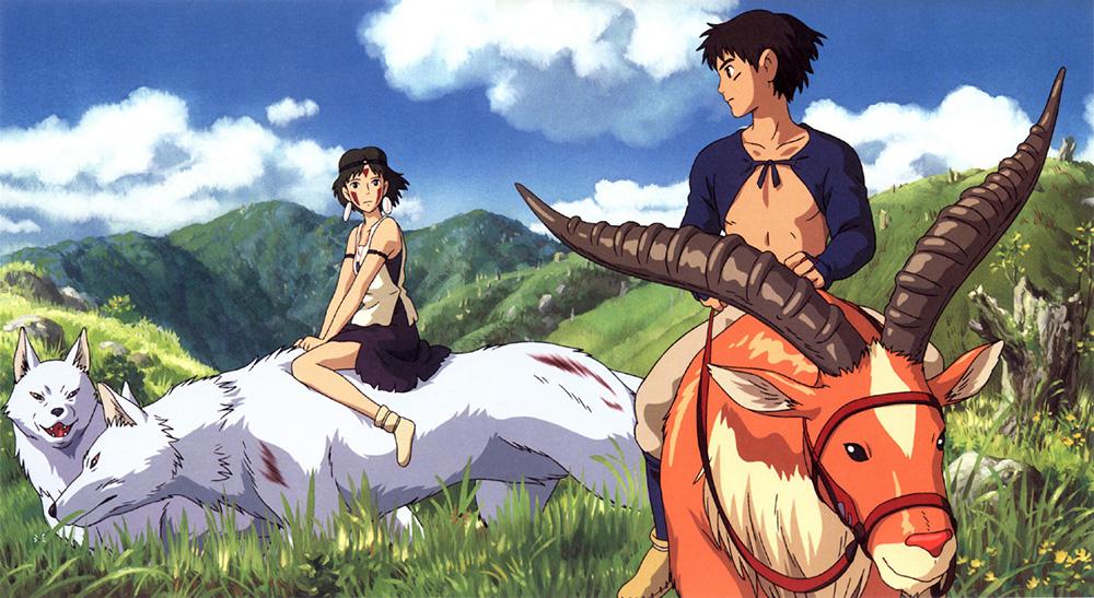 5! Momentos favoritos de las películas de Hayao Miyazaki - La princesa Mononoke