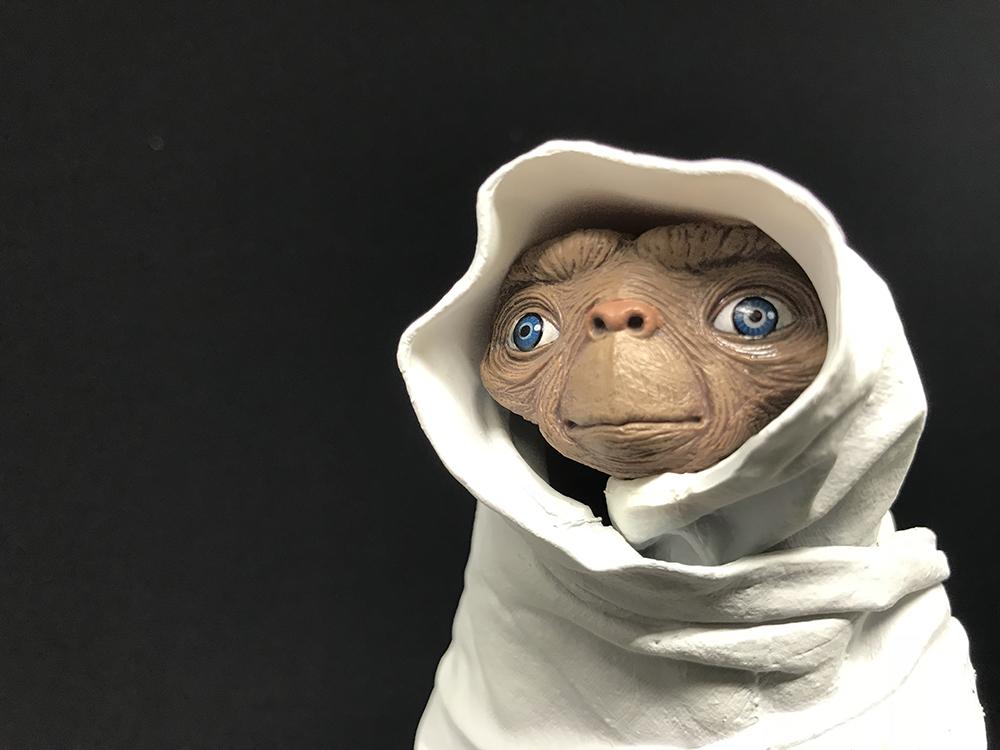 Mi nuevo Night Flight E.T. de NECA