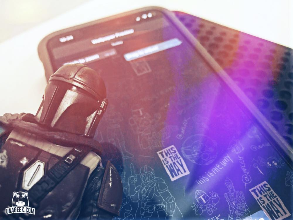 Fondo WhatsApp | The Mandalorian | UnaGeek