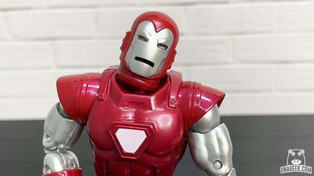Iron Man | Silver Centurion | Marvel Legends | Reseña | Una Geek