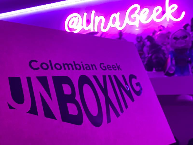 Colombian Geek Unboxing | UnaGeek